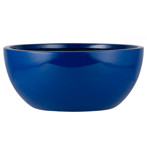 Land Series Bowl Fiberglass Planter
