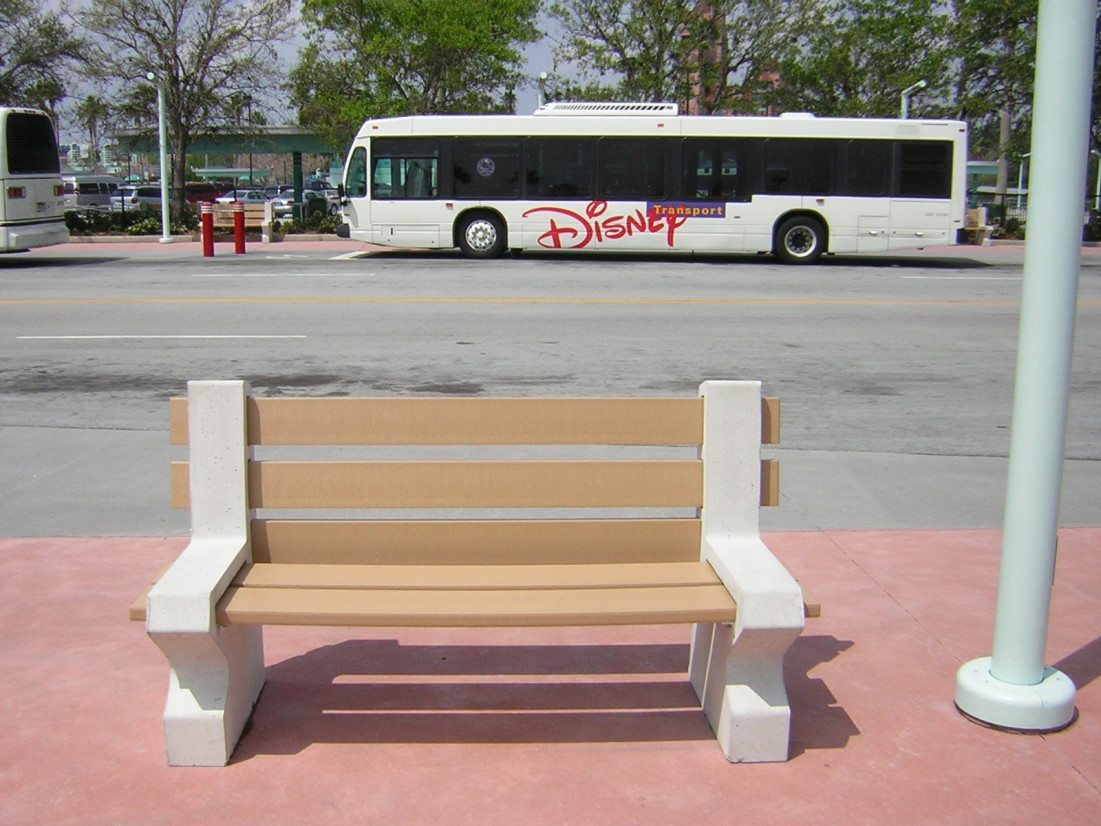 6ft Orlando Concrete Benches