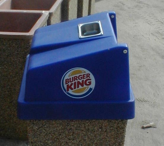 Logo Lid for Garbage Can