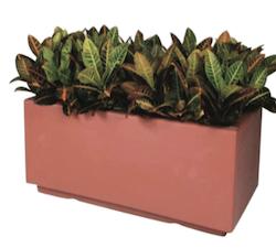 Chaz Rectangular Fiberglass Planter