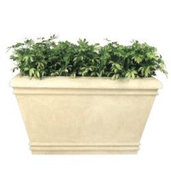Palace Rectangular Fiberglass Planter