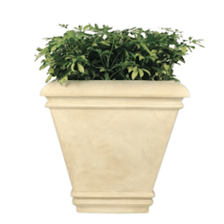 Palace Square Fiberglass Planter