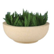 Rock Collection Fiberglass Planter