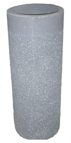 36 Inch Round Stone Aggregate Ashtray
