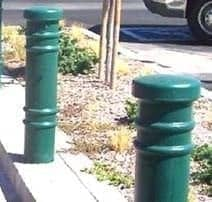 "6"" Dia x 1/4"" Wall Thickness Metro Bollard Cover"