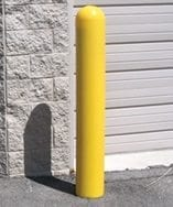 "6"" Dia x 1/8"" Wall Thickness Bollard Cover with Dome Top"