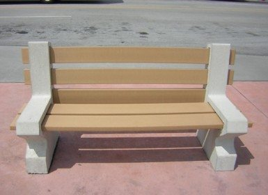 8ft Concrete Orlando Bench