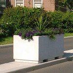 5ft Rectangular Concrete Planters