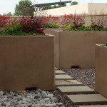 6ft Rectangular Concrete Planter