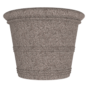 Plastic Barrel Vase Planter