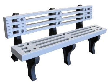 Recycled Designer Plastic Bench