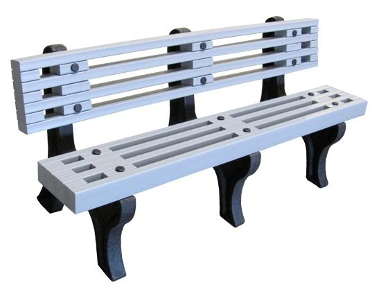 Recycled Designer Plastic Bench
