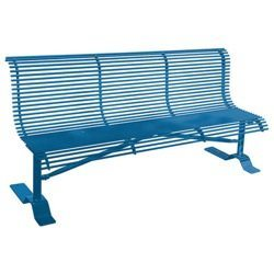 Metal Rod Bench