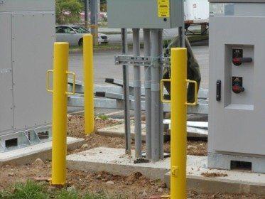 Sleeve Steel Security Pipe Bollard