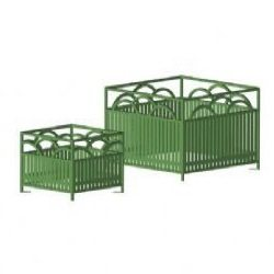 Summerfield Metal Planter